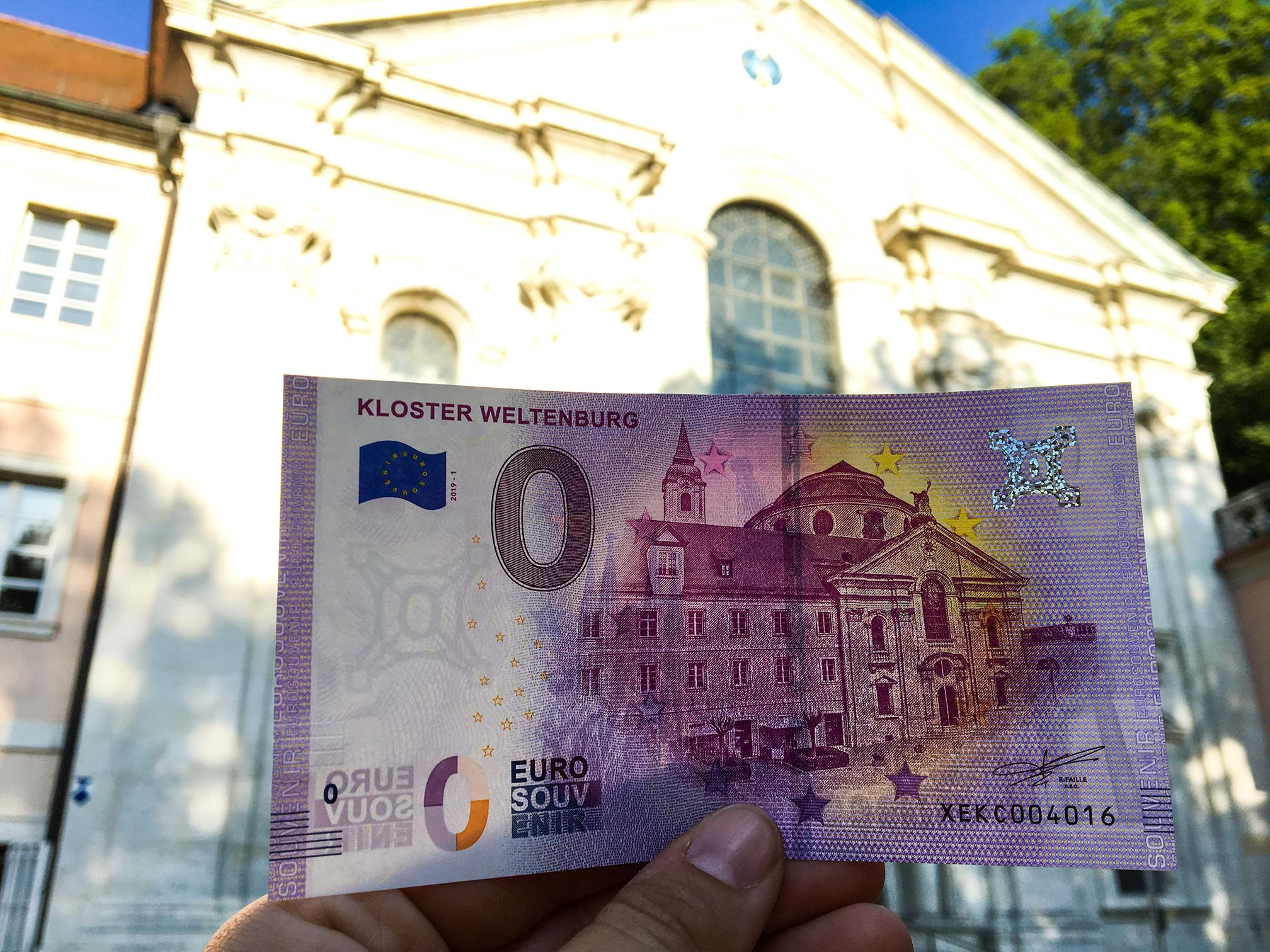 Klosterbrauerei-Weltenburg-0-EURO-Weltenburg-Schein