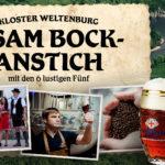 Asambock-Anstich im Kloster Weltenburg